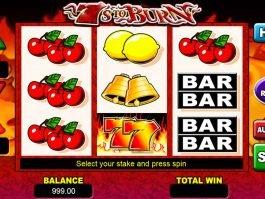 Free no deposit game 7's to Burn