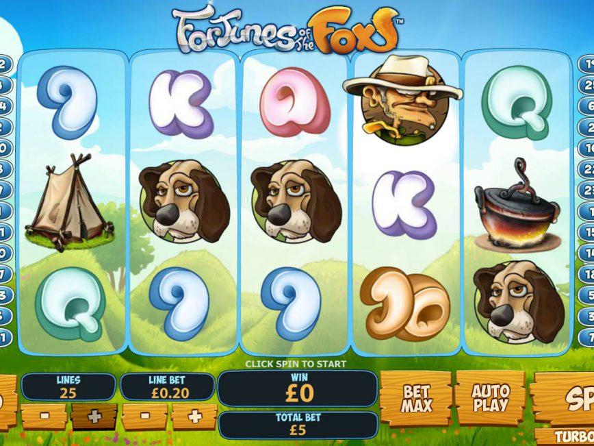 Free slot machine Fortunes of the Fox