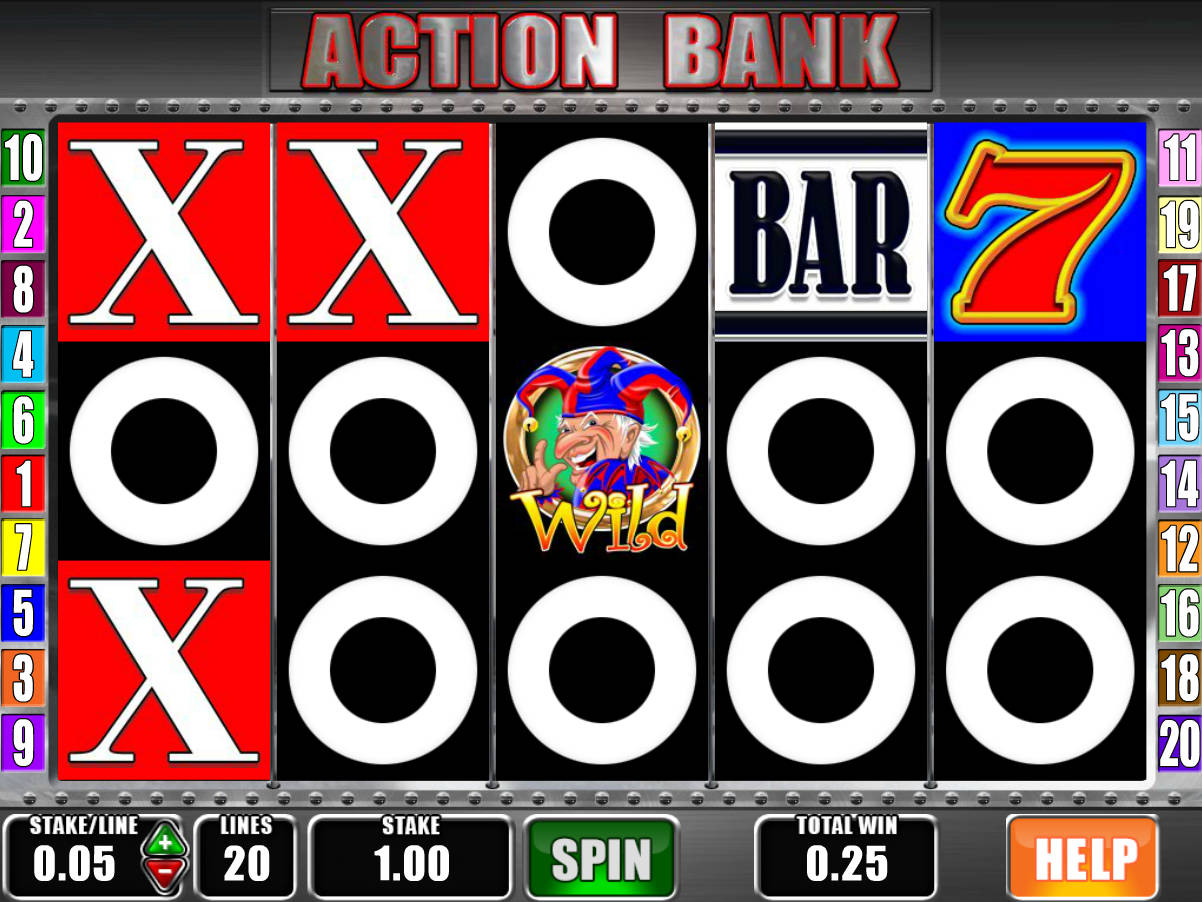 action bank casino game