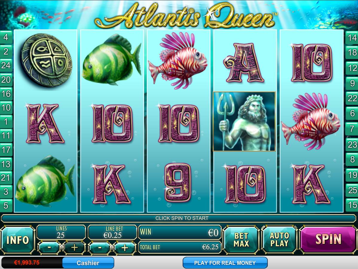 Atlantis Queen Free Slot
