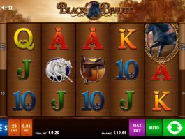 Spin free slot machine Black Beauty