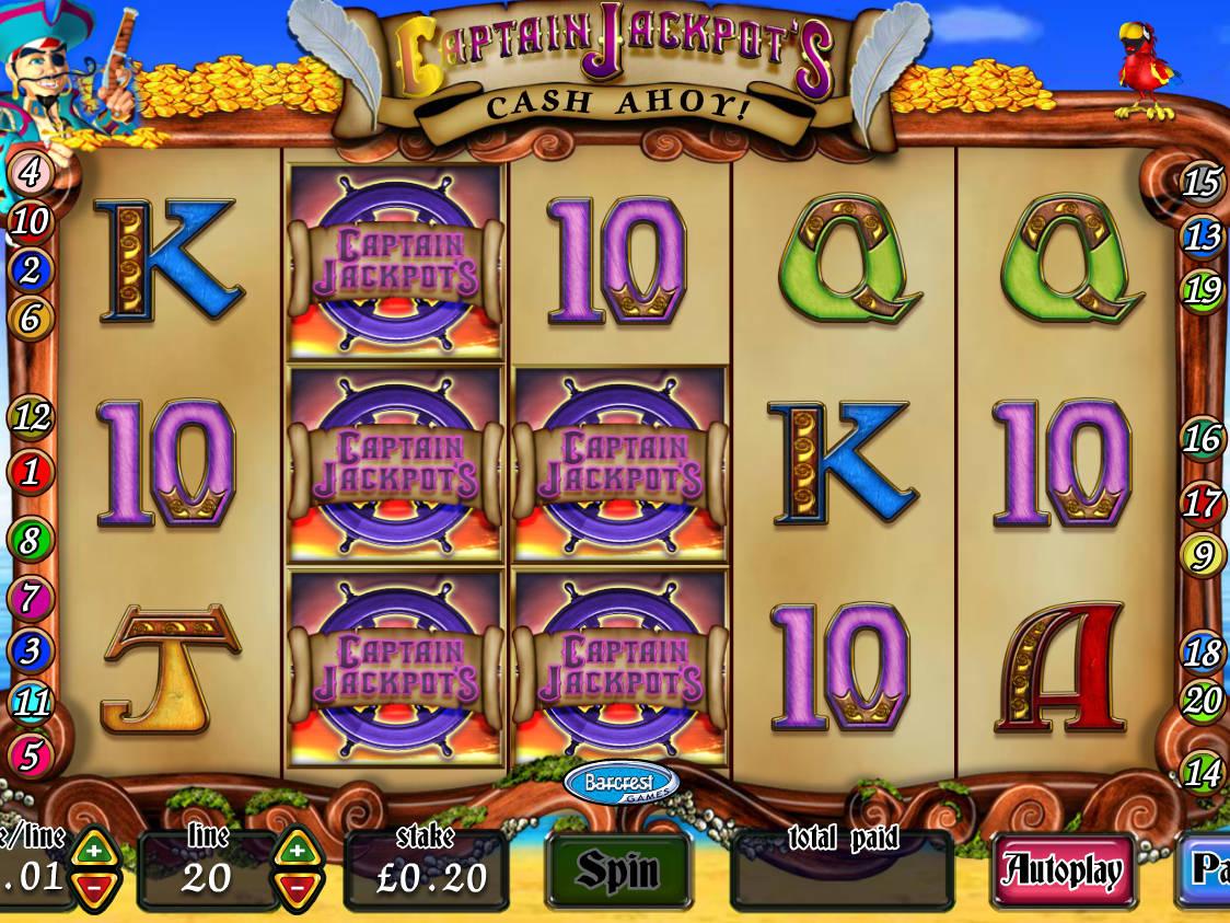 Captain Jack Slot Machine