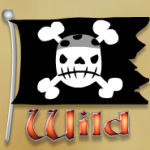 Wild symbol from online free slot Captain Jackpot's Cash Ahoy