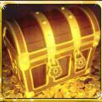 A Captain's Treasure Pro online nyerőgép scatter szimbóluma