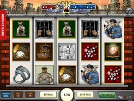 Free slot Cops'n Robbers by Play'n Go