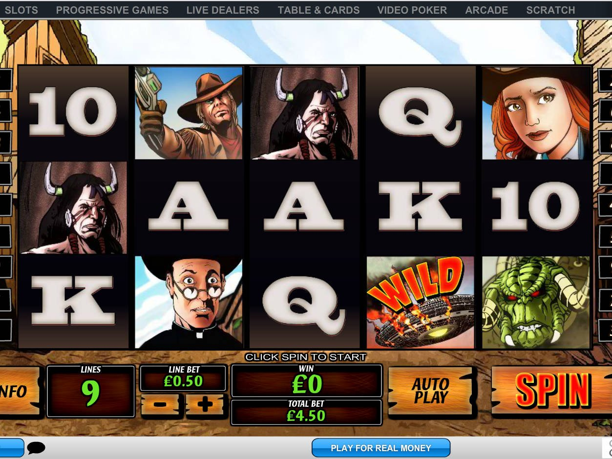 Buffet cowboys and aliens slot machine online playtech tokens