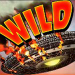Wild symbol - Cowboys and Aliens online slot