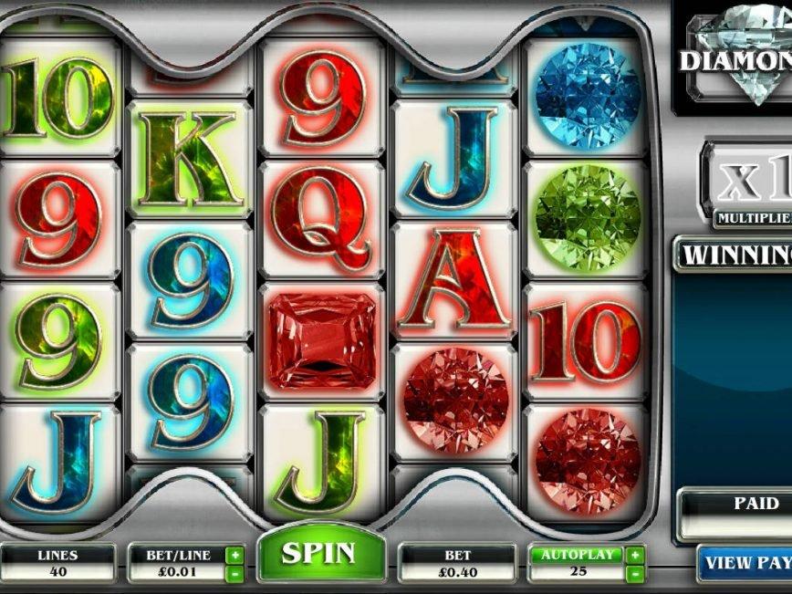 Diamonds online free slot for fun