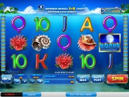 No deposit slot game Dolphin Cash