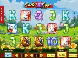 Casino slot machine Easter Eggs online for fun
