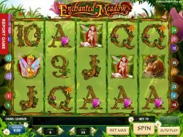 Slot machine online Enchanted Meadow for fun