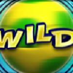 Wild symbol from casino slot machine Football Carnival