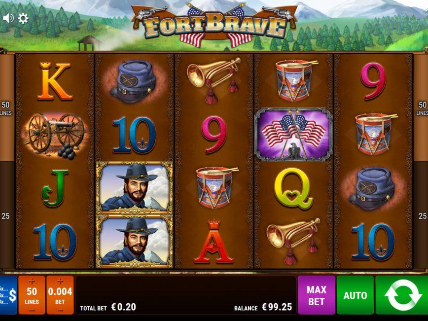 Online free slot Fort Brave