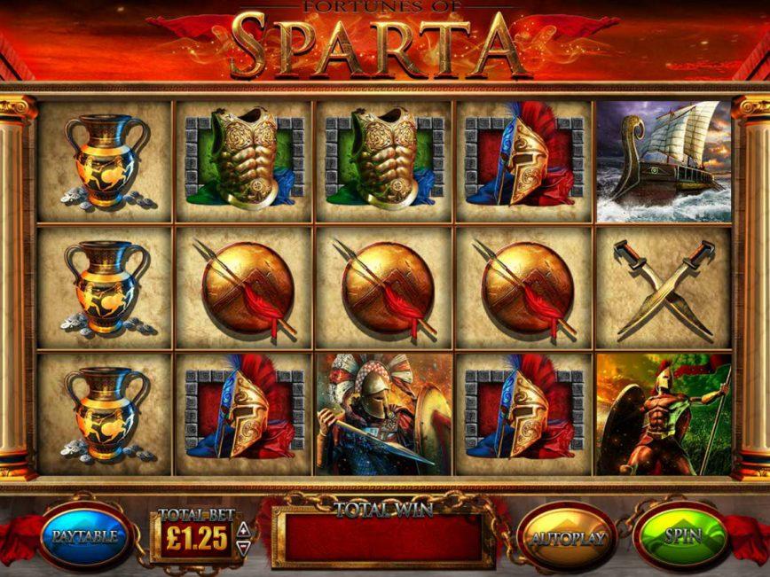 Fortunes Of Sparta Slot Machine