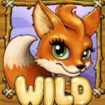 Picture of wild symbol from Fortunes of Foxs online slot