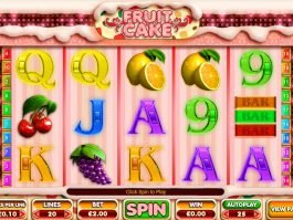 Picture from slot game Fruit Cake by Big Time Gaming