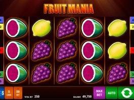 No deposit game Fruit Mania online