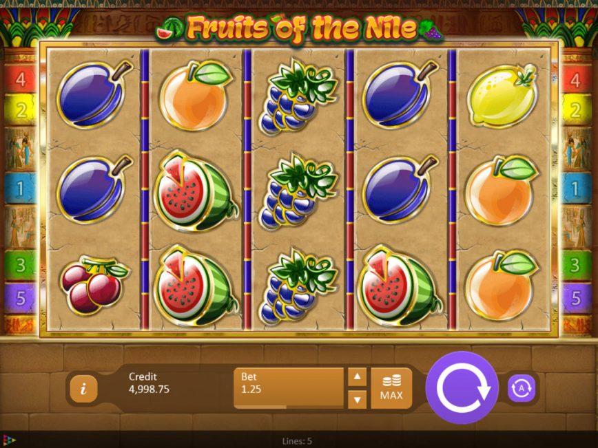 Fruits Of The Nile Slot Machine