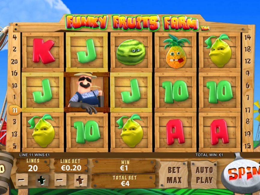 Free slot machine Funky Fruits Farm