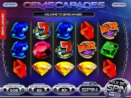 Gemscapades online free slot by Betsoft