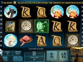 Play casino game Ghosts of Christmas