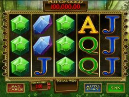 Spin casino game Gold Leaf Clover for fun