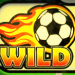 Wild symbol - Golden Goals online slot