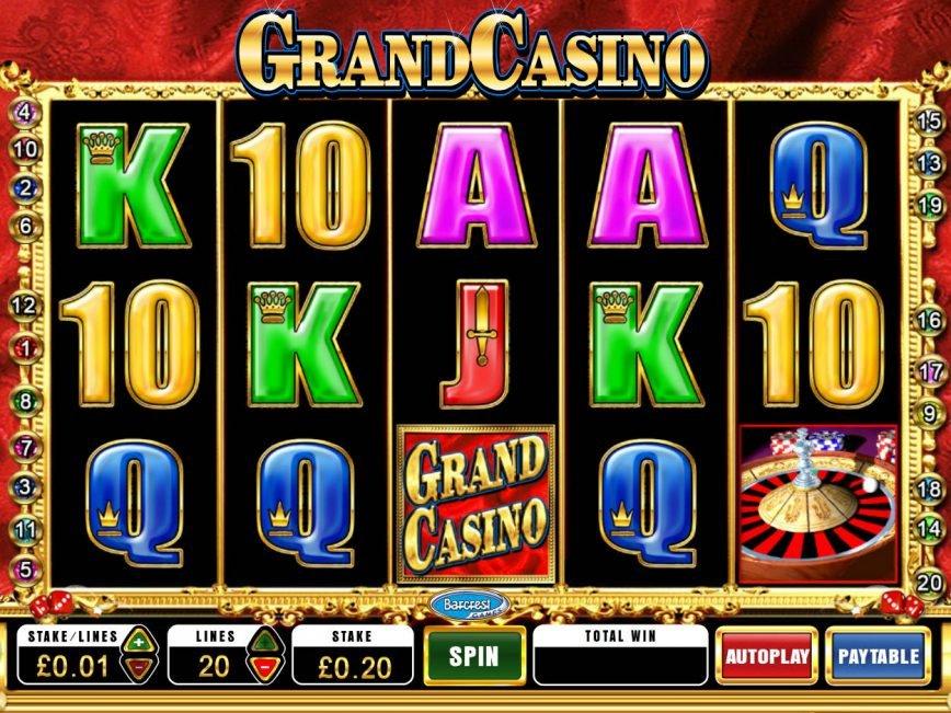 Play no deposit game GrandCasino online