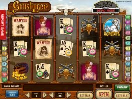 Online casino game Gunslinger for free