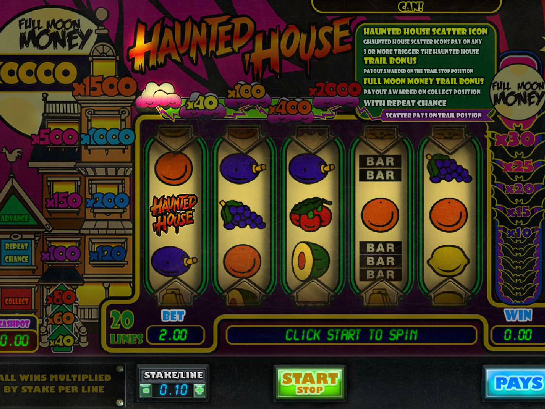 If Yes, Then The Free Haunted House Online Slot Game Has Something Good To  Offer You. Developed By Big Time Gaming, The Five Reel Slot Game Is ...