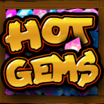 Scatter symbol from free slot Hot Gems online