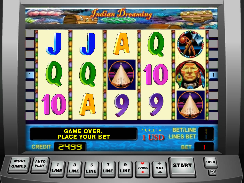 Indian dreaming slot machine online game circus circus hotel casino las vegas strip