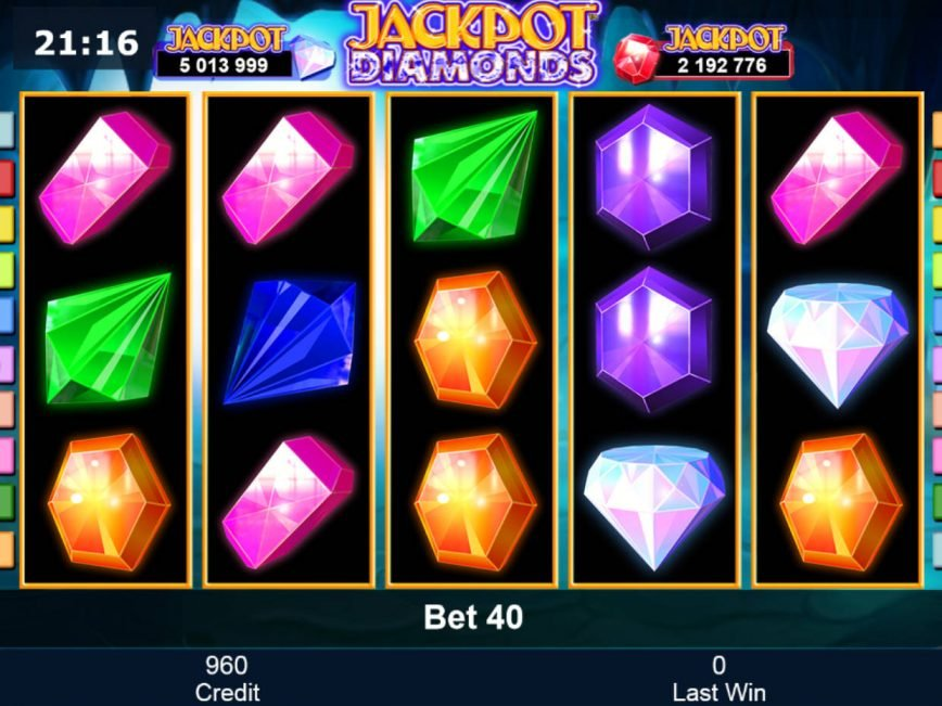Play free online slot Jackpot Diamonds