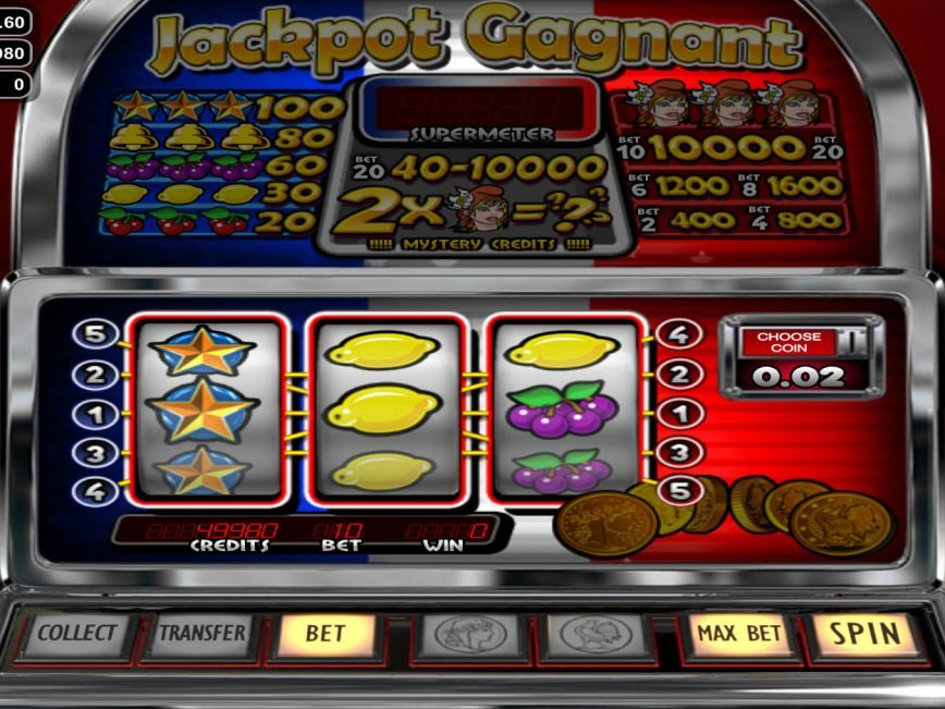 Picture from online slot machine Jackpot Gagnant online
