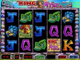 Free slot machine King of the Aztecs online