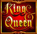 Comodín de la máquina tragaperras King & Queen