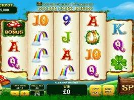 Spin casino slot machine Land of Gold