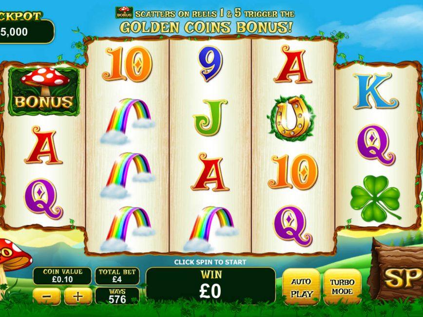 Spin casino slot machine Land of Gold