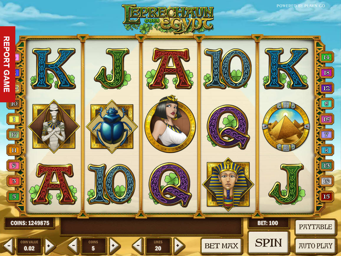 Play Leprechaun Goes Egypt Slots Here For Free