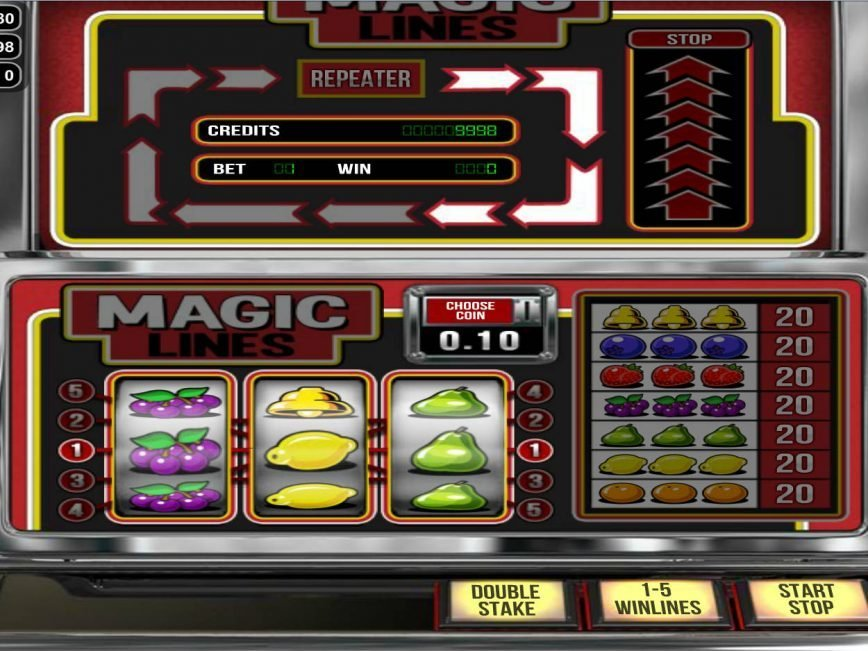 Spin online free slot Magic Lines