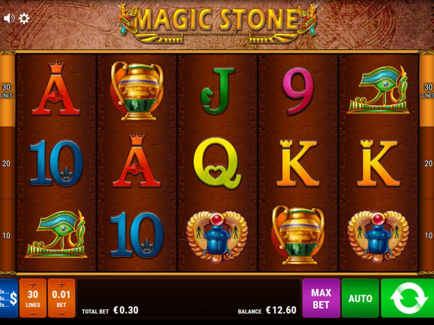 Magic Stone online slot by Bally Wulff