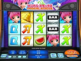 Picture from slot machine Magical Stacks