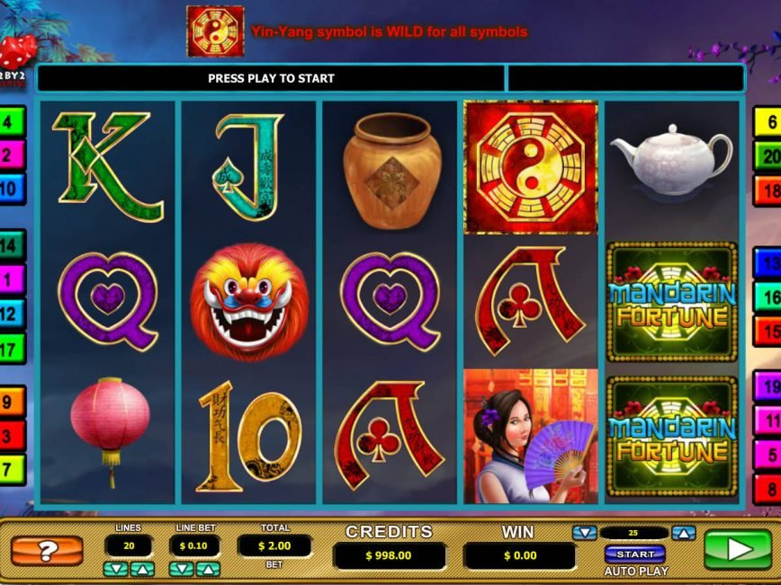 Play Mandarin Fortunes Slot Machine Free with No Download