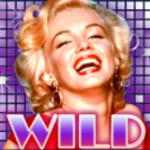 Wild icon from casino game Marilny Monroe