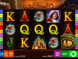 Play free casino slot Mighty Dragon