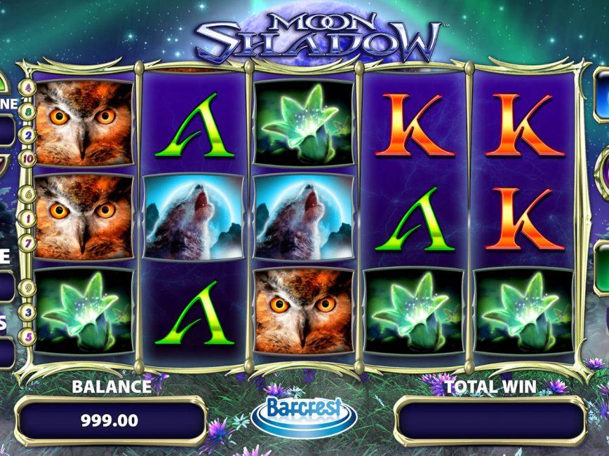 Play free casino slot Moon Shadow for fun