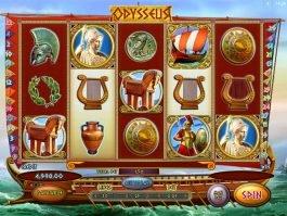 Spin no deposit game Odysseus online