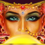 Wild from slot game Queen of Wands online