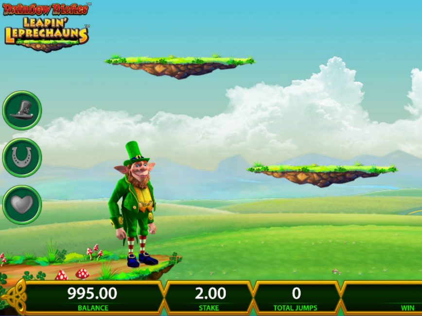 Rainbow Riches Leapin' Leprechauns online free slot