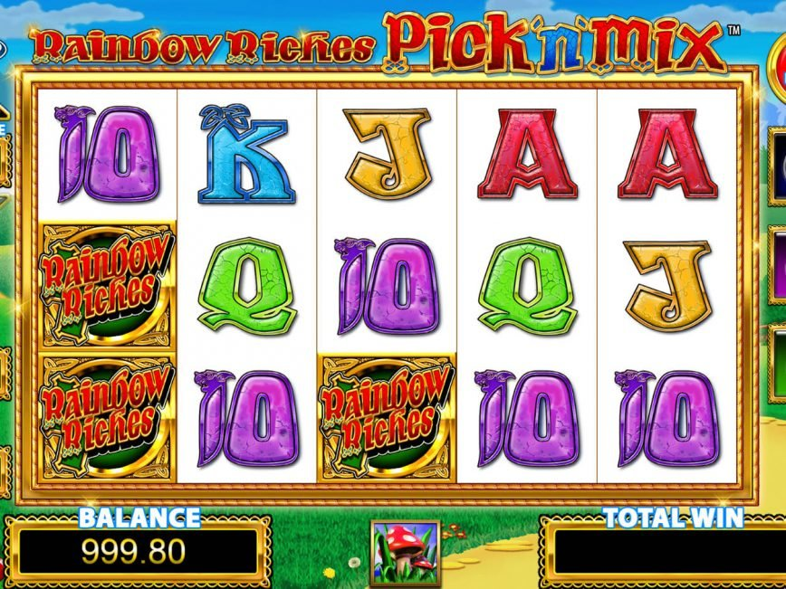 Picture from slot machine Raibow Riches Pick'n'Mix
